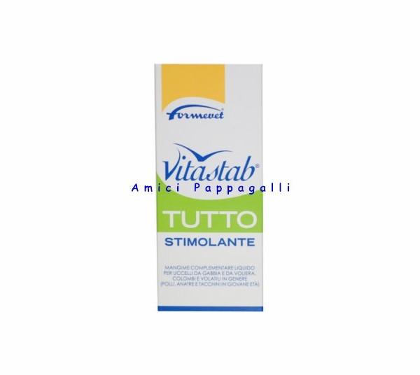 Vitamina vitastab tutto stimolante liquida formevet 200 ml for Vitamina a per tartarughe