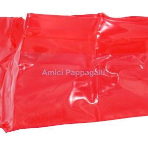 ciotola tascabile rossa da viaggio per cane camon