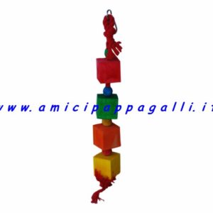 giocoa cubi per pappagalli
