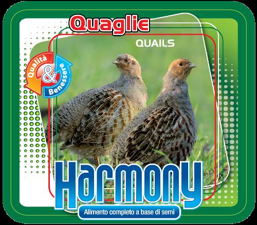 mangime per quaglie harmony