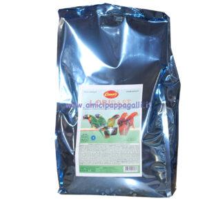 pappa per tutti i lori, sacco 5kg, mangime specifico per loricoli, loripast