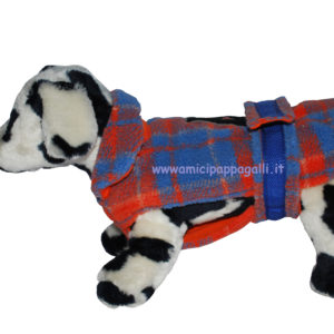 cappottino Tiger tessuto pile per cani camon