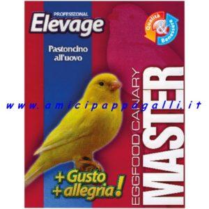 elevage pastone morbido per canarini e uccelli