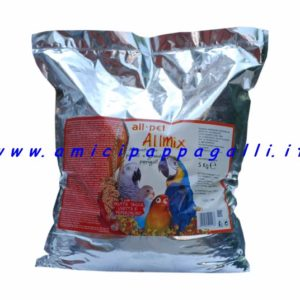 allmix pastone con frutta secca all pety, per pappagalli di piccola e media taglia