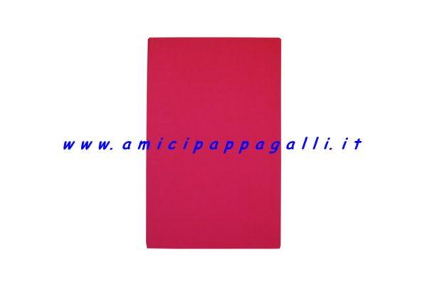 cuscino rosso rettangolare antigraffio idrorepellente per cane 100x70
