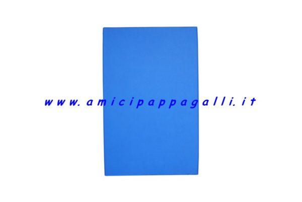 cuscino azzurro rettangolare antigraffio idrorepellente per cane 100x70