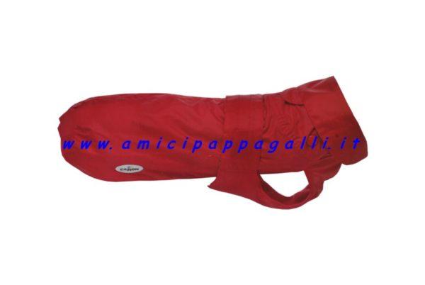 donald red camon impermeabili per cane