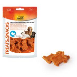 camon treatssnacks snack pollo per cani