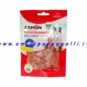 dadini al salmone snack cani camon