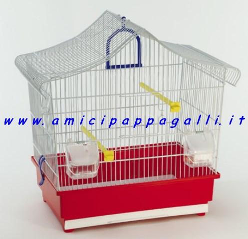domus molinari gabbia uccelli alba