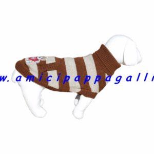 bizet è un maglioncino a collo alto, dolcevita, per cane linea trudy camon