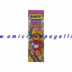 raff austral stick per pappagalli, pappagallini, inseparabili, parrocchetti, calopsite, roselle, pappagalli di piccola e media taglia