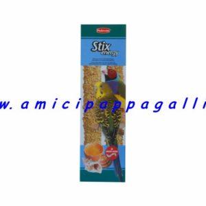 stix energy padovan stick, snack, leccornie per cocorite, esotici, pappagallini, diamanti di gould, bengalini