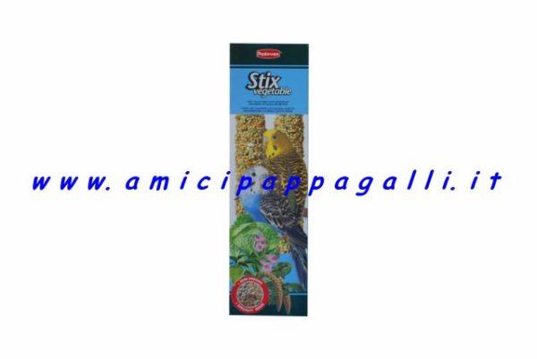 stix vegetable padovan stick e snack per cocorite, esotici, pappagallini
