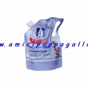 sanibox profumazione alla lavanda per detergere e pulire gli ambienti della casa e soprattutto dove soggiornano gli animali