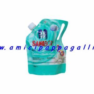 sanibox profumato al muschio bianco per pulire e igienizzare gli ambienti domestici l'ambiente di soggiorno degli animali