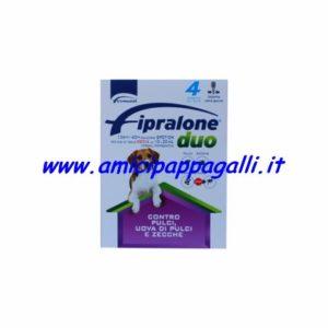 Fipralone Duo spot-on 10-20kg per cani di taglia media antiparassitario contro pulci, uova di pulci e zecche, Formevet