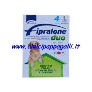 Fipralone Duo spot-on 20-40kg per cani di taglia grande antiparassitario contro pulci, uova di pulci e zecche, Formevet