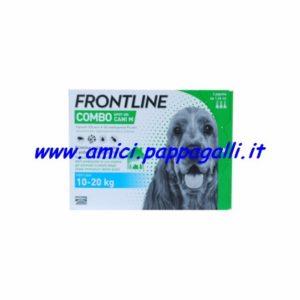 frontline combo cane spot on 10-20kg antiparassitari per cani 4 pipette