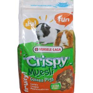 Versele laga crispy Muesli Guinea Pigs Cavia's mangime per cavie o porcellini d'india