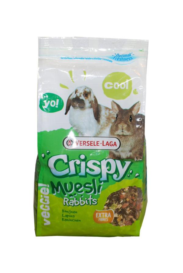 Versele-laga crispy Muesli rabbit's mangime per conigli nani